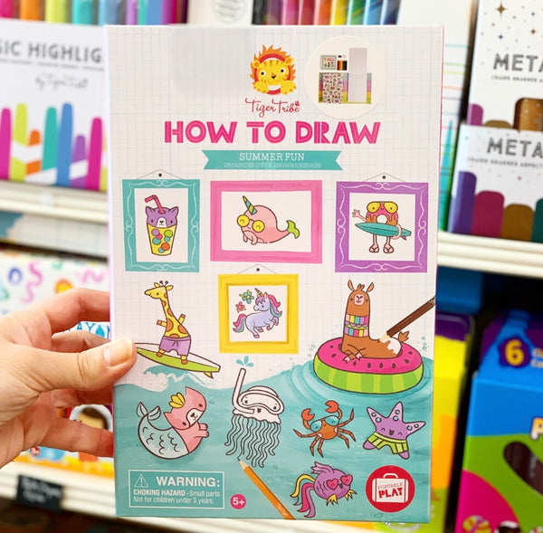 How-to-Draw - Summer Fun