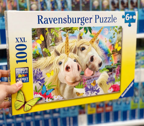 Don't Worry, Be Happy Unicorn Puzzle 100pc