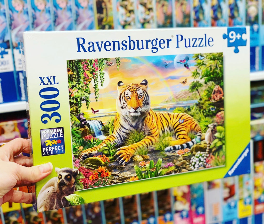 Tiger at Sunset 300pc Puzzle