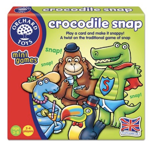 Orchard Toys Mini Games - Crocodile Snap