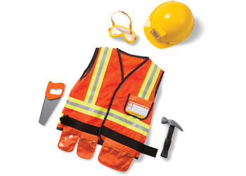 Construction Dress Up / Role Play Costume Set