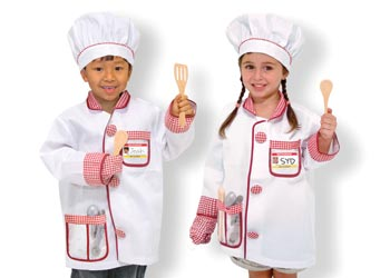 Chef Role Play Costume Set Dress Up