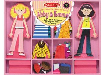 Abby & Emma Magnetic Dress-Up