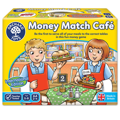 Money Match Café Game  - Orchard Toys