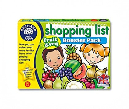 Orchard Toys - Shopping List Booster (expansion) Packs (sold separately)