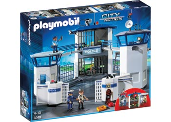 Playmobil  6919 - Police Headquarters with Prison