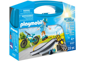 Playmobil 9107 - Extreme Sports Carry Case
