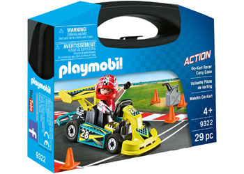 Playmobil - Go Kart Racer Carry Case