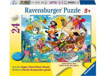 Land Ahoy! 24 pc Ravensburger Floor Puzzle