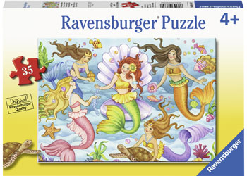 Ravensburger - Queens of the Ocean Puzzle 35pc