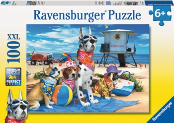 No Dogs On The Beach Puzzle 100pc