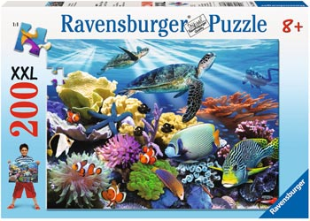 Ravensburger - Ocean Turtles Puzzle 200 pc