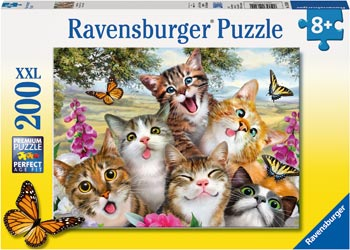 Friendly Felines Puzzle 200pc - Ravensburger