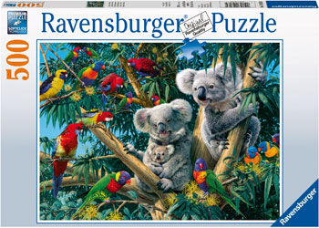 Koalas in a Tree 500 pc puzzle