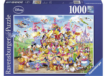 Ravensburger - Disney Carnival Characters Puzzle 1000pc