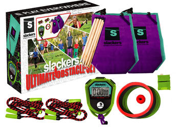 Slackers  - Ninja Obstacle Course with Stopwatch