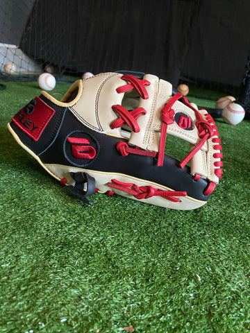 Black with Blonde w/ Red Laces New  Elite Series