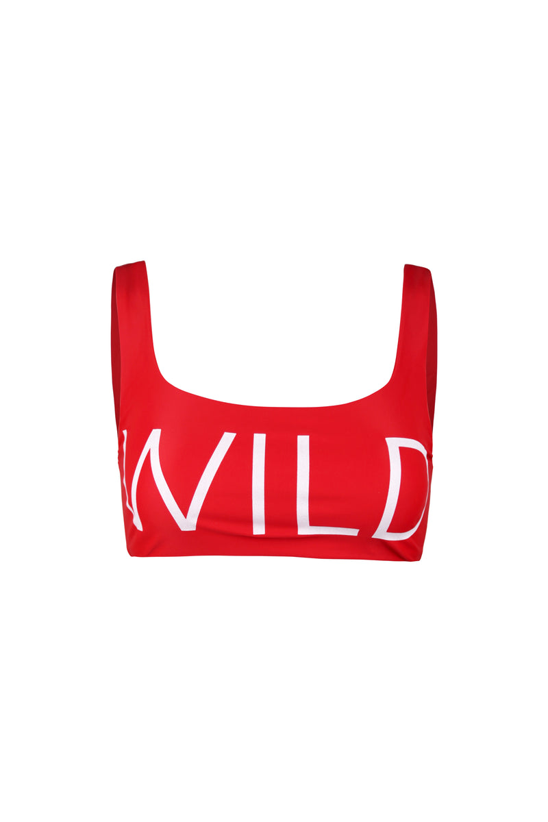 WILD TANK TOP (RED)