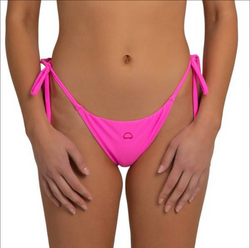 Las Salinas String Bottom (Neon Pink)
