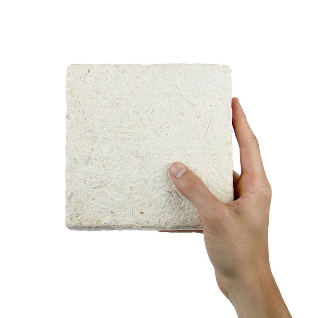 Myco foam tile in hand