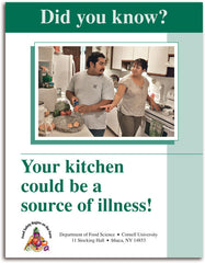 Did you Know? Your kitchen could be a source of illness!