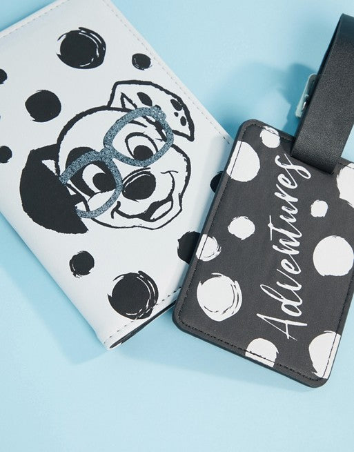 Disney 101 Dalmations Passport & Luggage Tag