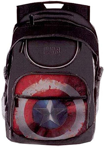 Marvel Captain America Sheild Student Backpack