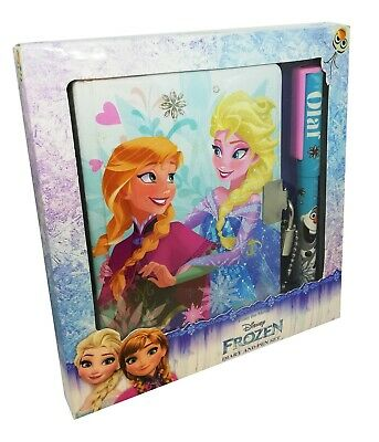 Disney Frozen Winter Queen Glitter Diary & Pen
