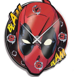 Marvel Deadpool Wall Clock - Acrylic