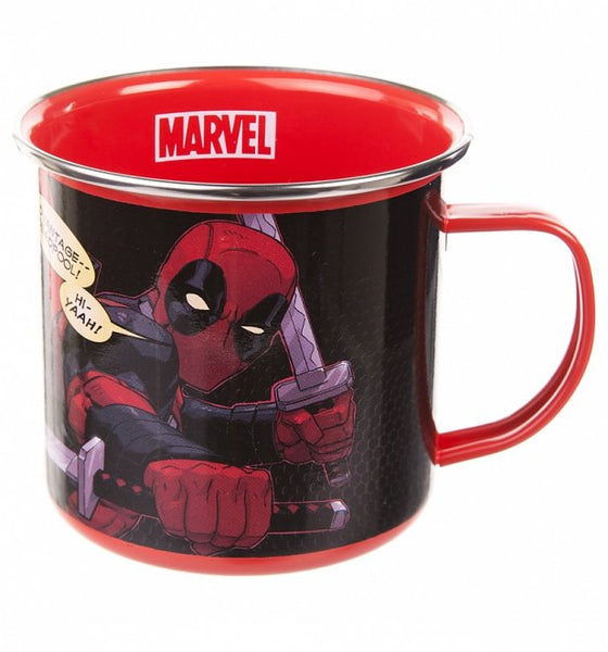 Marvel Deadpool Enamel Mug