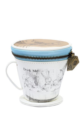 British Museum Alice Tea Cup Purse
