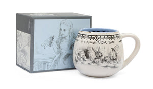 British Museum Alice Ceramic with Gold Decal Mug
