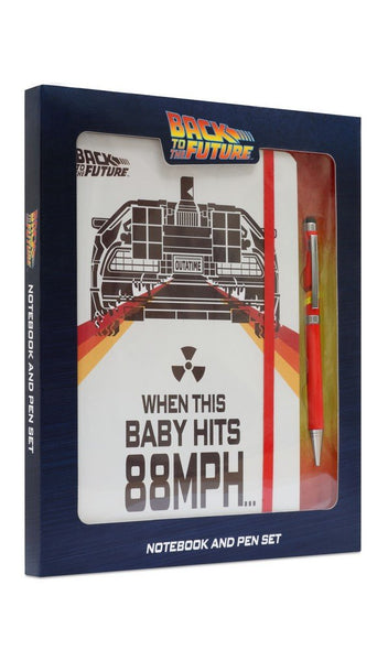 Back to the Future Notebook & Pen Set