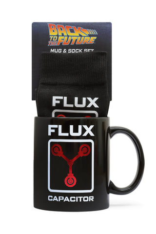 Back to the Future Mug & Sock set