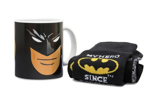 DC Comics Batman Mug & Sock Set