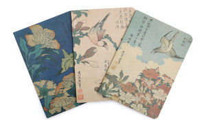British Museum Hokusai Set of 3 A6 note books