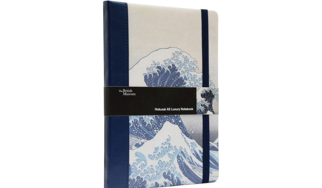 "British Museum Hokusai ""The Great Wave"" A5 Luxury Notebook"