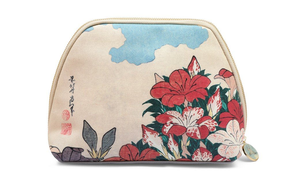 British Museum Hokusai Blossom Pencil/Cosmetic Bag