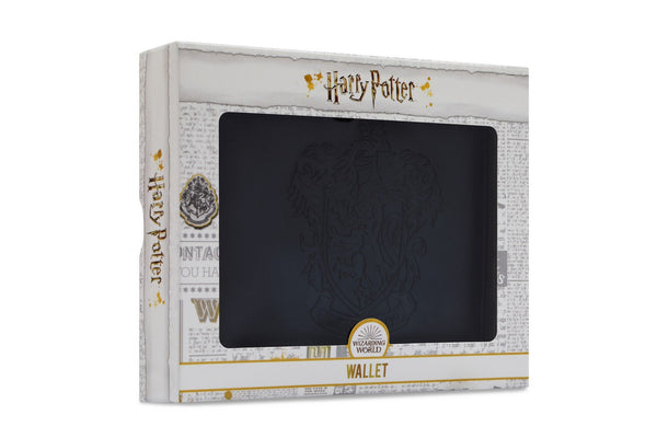 Harry Potter Hogwarts Embossed Crest Wallet