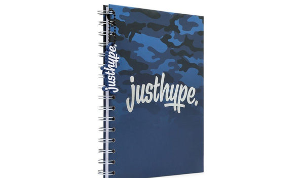 Hype Camo Graduated A5 notebook with rubber charm