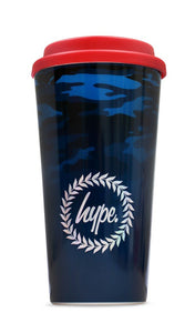 Hype  Camo Graduated 450ml plastic Travel Mug