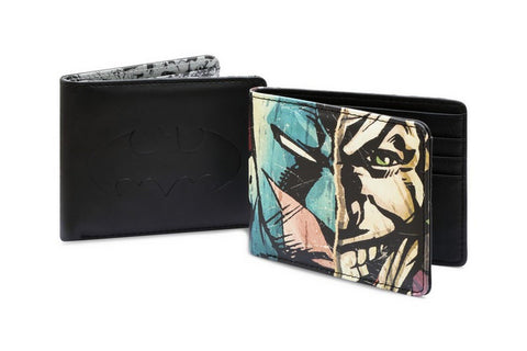 DC Comics Batman/Joker Split Wallet