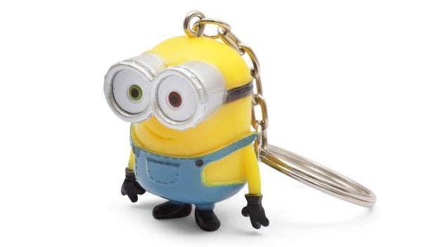 Minions Scented  3D Key Ring Bob