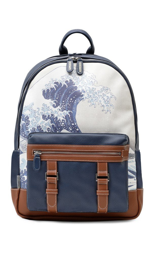 British Museum Hokusai Great Wave Luxury Backpack