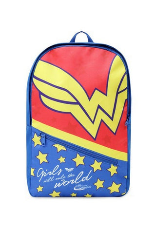 DC Comics Wonder Woman Printed Backpack