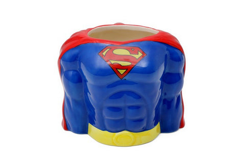 DC Comics Classic Superman Torso Ceramic 3D Mug