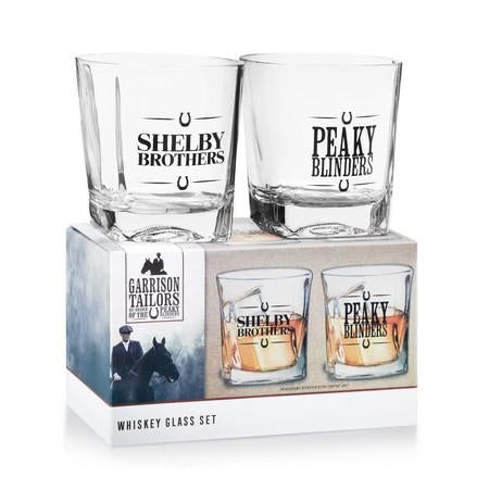 Peaky Blinders Whiskey Glasses