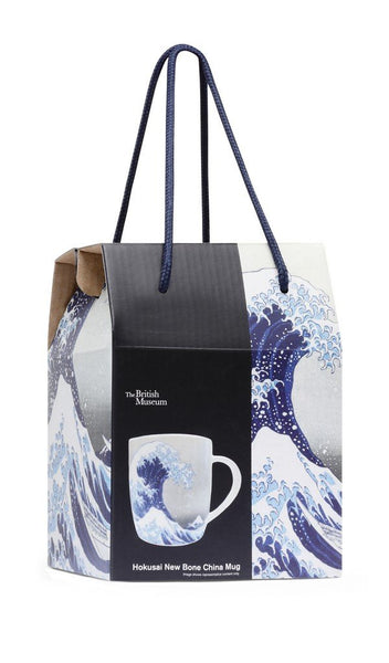 British Museum Great Wave Hokusai Bone China Mug