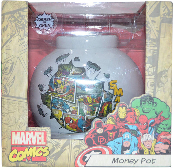 Marvel Comic Mania Money Pot/Bank
