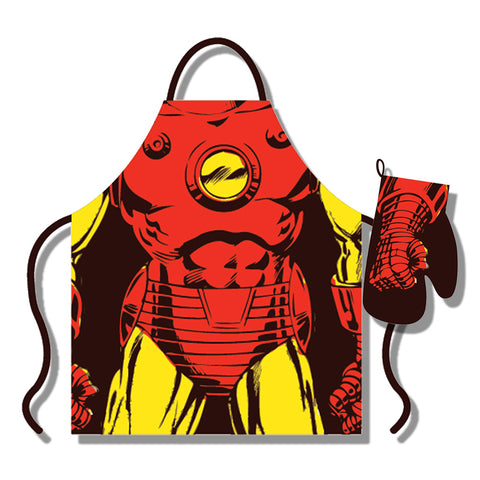 Marvel Iron Man Apron & Glove Set
